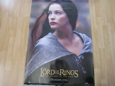 Lotr Return Of The King Poster Arwen Double Sided Original 40 X 27 A11807