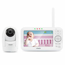 "Vtech Vm5262 5"" Digital Video Baby Monitor w/ 2 Pan & Tilt Cameras, Night Vision"