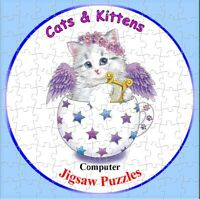 Cats & Kittens  - Computer Jigsaw Puzzles on CD - 120 Images #1