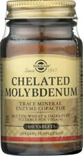 Solgar Chelated Molybdenum 100 Tablets**