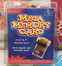 Mega Memory Card On Gameboy Color Expansion New Sealed
