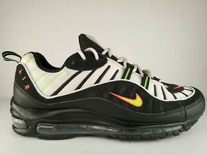 "Men's Nike Air Max 98 ""Highlighter"" Athletic Fashion Casual Sneakers 640744 015"