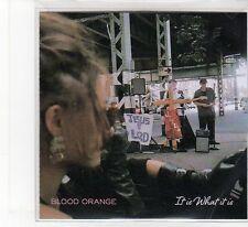 (FB484) Blood Orange, It Is What It Is - 2014 DJ CD