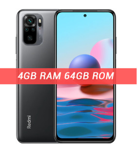 Redmi Note 10 4GB 64GB Global Version Onyx Gray