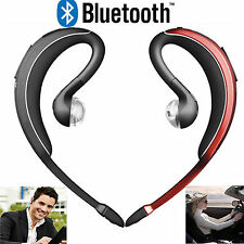 Wireless Stereo Bluetooth Headset Headphone Earpiece For Samsung Galaxy iphone 7