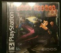 Fear Effect Ps1 Playstation 1 One 4CDs 4 Discs & Instructions Manual TESTED Rare