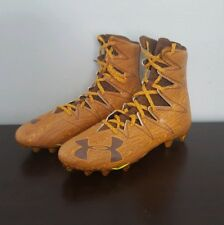 Under Armour Highlight MC LE Limited Wood Grain Football Cleats 1275479-202 11