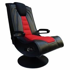 X Rocker Spider 2.1 Wireless with Vibration Game Chair, Black
