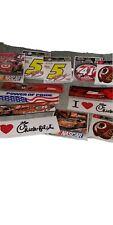 Nascar Bumper Stickers Lot. Kyle Bush Dale Earnhart Jr Tony Stewart. Racing