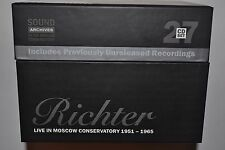RICHTER LIVE IN MOSCOW CONSERVATORY 1951-1965 27CD SET Limited Edition BRAND NEW