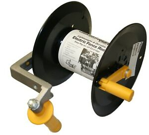Baygard 00221 Electric Fence Tape & While Reel Easy System Spool with Handle