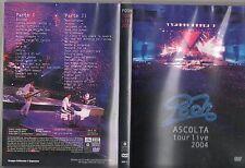 POOH DVD Ascolta TOUR LIVE 2004 abbinamento editoriale L'ESPRESSO