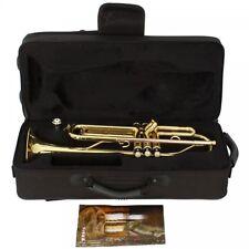 Golden Brass Material Trumpet