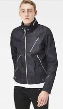G-Star Raw Empral 3D Denim Biker Jacket Mens Size Large BNWT RRP £280