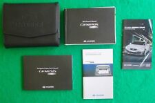 2012 12 Hyundai Genesis Coupe Owners Manual Navigation Near New T13A
