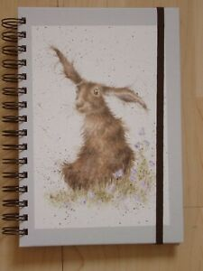 Gorgeous WRENDALE A5 Spiral Notebook 'HAREBELLS' - HARE - NEW