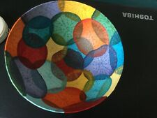 Icelandic Handmade Art Bowl Radish Slice Wall Hanging Collectible Decor New