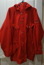 Men's Red HELLY HANSEN Cotton Fjall parka Jacket sz XL