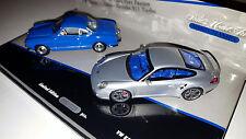 Minichamps #402902010 1/43 1955 VW Karmann Ghia Coupe 2010 Porsche 911 Turbo Set