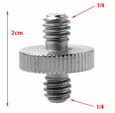 "1/4"" Male Threaded To 1/4"" Male Threaded Double Male Screw Adapter UK Seller"