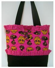 NEW handmade tote purse bag handbag Snoopy  Skull Peanuts  faffygiraffe