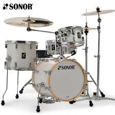 NEW Sonor AQ2 Series 4 Piece SAFARI Drum Set Shell Pack White Marine Pearl