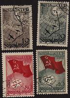 Russia, USSR, 1938, SC 625-628, used. b8005