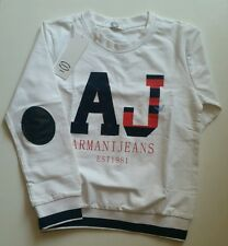 JUSTGOALIE JUNIOR t-shirt manches longues ARMANI 7 ans 100% cotton