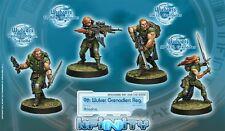 Infinity BNIB Ariadna - 9e régiment Grenadiers wulver (boîte de 4)
