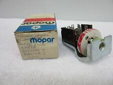 NOS 1977, 1978 Plymouth Fury Dodge Aspen Chrysler  Headlight Switch 3747216 dp