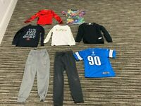NIKE Boys Lot OF Eight Items Size: 6 to 8 XS / Small (Six Shirts and Two Pants)