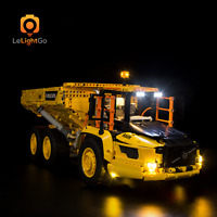 LED LIGHT KIT FOR LEGO 42114 6X6 VOLVO ARTICULATED HAULER Technic Lighting set