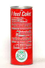 1988 Coca Cola can from Japan, JR-East 1st Anniversary (250ml)
