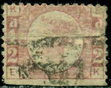 Great Britain Sg-49, Scott # 58, Used, Plate # 8, Great Price!
