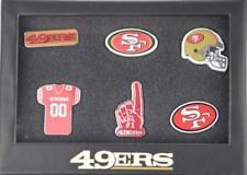 San Francisco 49ERS NFL 6 Pin Badge Set