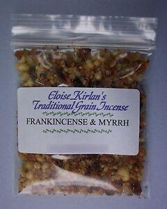 FRANKINCENSE & MYRRH Traditional Grain INCENSE Resin