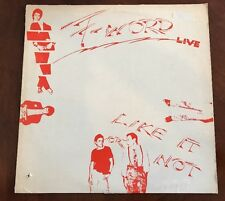 F-Word Live (Like It Or Not) LP Posh Boy PBS-101
