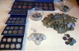 lot coffret BU BE pieces coin argent silver euros anciennes pieces