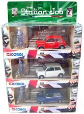 Corgi Toys 1:36 3x MORRIS MINI COOPER ITALIAN JOB Rally Car Set MIB`00 TOP RARE!