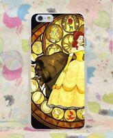 La Bella y La Bestia Disney Funda Carcasa para iPhone 5,6,7,8,X Samsung S6,S7,S8