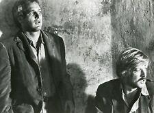 """ROBERT REDFORD PAUL NEWMAN """"BUTCH CASSIDY ET LE KID"""" PHOTO DE PRESSE CINEMA CM"""