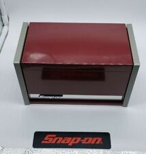 Snap-On Tool Box Miniature staionary Cabinet In CRANBERRY RED NEW !!!!!!