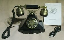 Home Phone Antique Collection Classic Series Replica Push Button Telephone