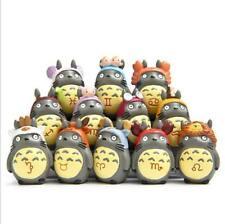 12 Sätze Tonari no Totoro Anime Action Mini Figur Spielzeug Geschenk Haus Garten