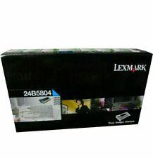 Genuine Lexmark 24B5804 Cyan Toner Cartridge CS736 XS734 XS736 XS738