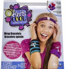 Knit's Cool - Wrap Bracelets - Kids Girls Knitting Yarn Post