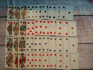 MILANESI PLAYING CARDS Italian 40 Card Deck Italy Milan Dal Negro