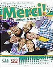 (16).MERCI! METHODE DE FRANÇAIS 3ºESO (LIVRE). ENVÍO URGENTE (ESPAÑA)