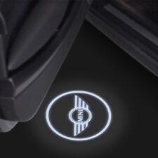 MINI BMW 2X LED PROIETTORE LOGO AUTO TUNING SPORTELLO LUCE CORTESIA PORTIERA