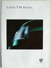Prospekt Lancia Y 10 Sondermodell Avenue, 9.1993, 4 Seiten